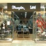 VF store Wrangler a Lee
