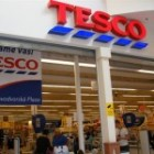 Supermarket Tesco Expres v Rosicích
